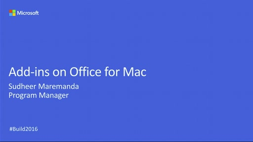 Office Add-ins in Office for Mac