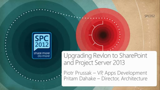 Customer Showcase: Upgrading Revlon to SharePoint and Project Server 2013