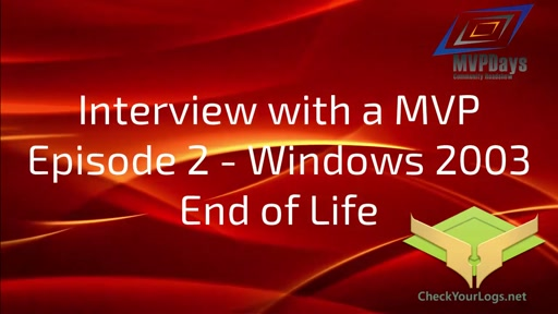 Episode 2 - Windows2003EOL