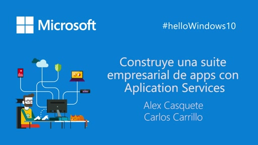 Construye una suite empresarial de apps con Application Services