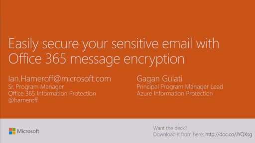 Secure your sensitive email with Office 365 message encryption