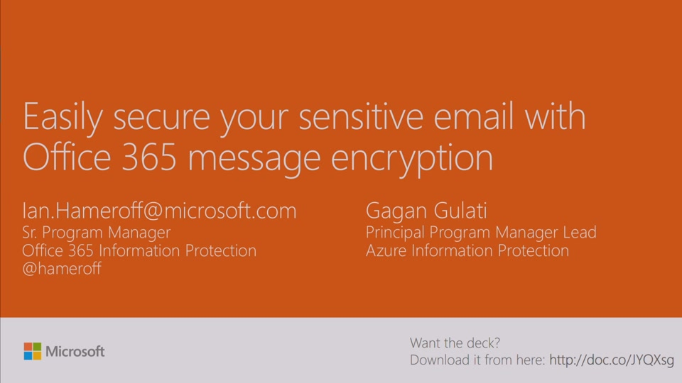 Send secure email to anyone with the power of Microsoft