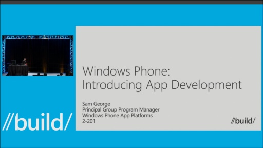 Windows Phone: Introducing App Development