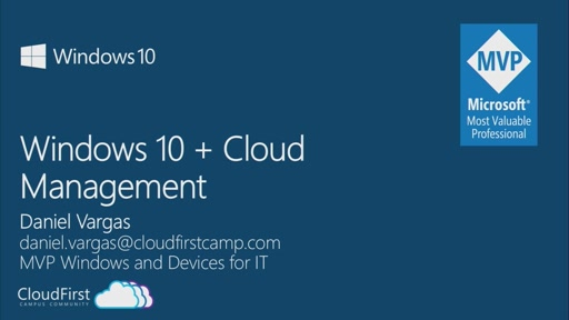 Windows 10 + Cloud Management