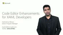 Code Editor Enhancements for XAML Developers