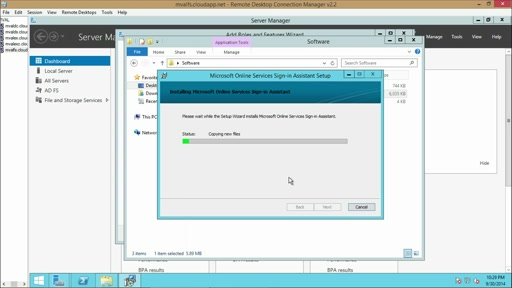Migrating to Exchange Online: (05) Hybrid Deployment Demo