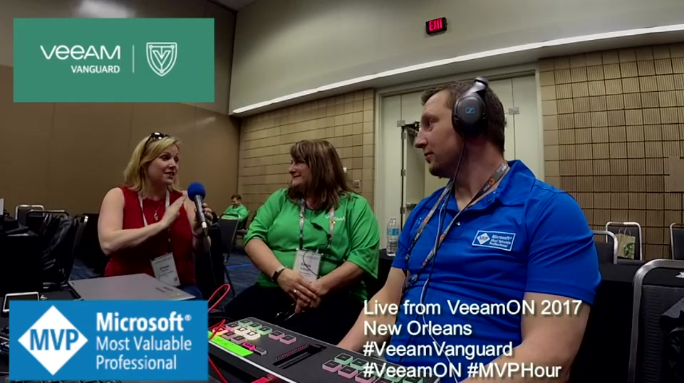 Episode 75 - Interview with Kathy Obrien at VeeamON 2017