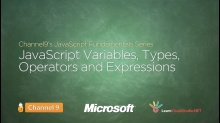 JavaScript Variables, Types, Operators, and Expressions - 05