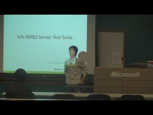MS-SMB2 Server Test Suite Scenarios Presentation 2011