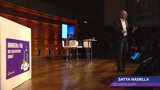 Satya Nadella : Empowering every person and every organization to do more