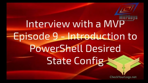 Episode 9 - Introduction to PowerShell DSC