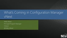 What's coming with System Center Configuration Manager vNext