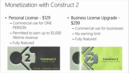 Construct 2 Advanced Game Development: (04) Monetization