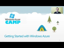 Windows Azure Camp Online: Getting Started with Windows Azure
