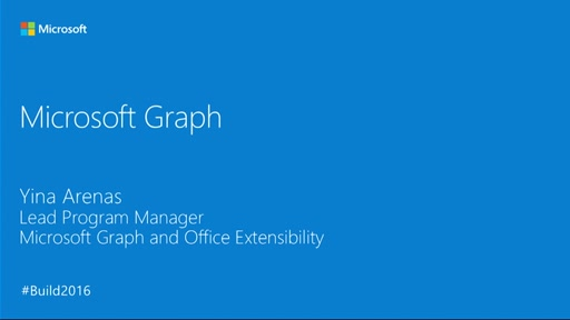 Microsoft Graph Overview