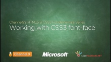 Working with CSS3 Font-Face - 17