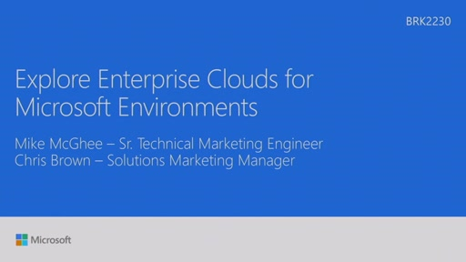 Explore Enterprise cloud for Microsoft environments