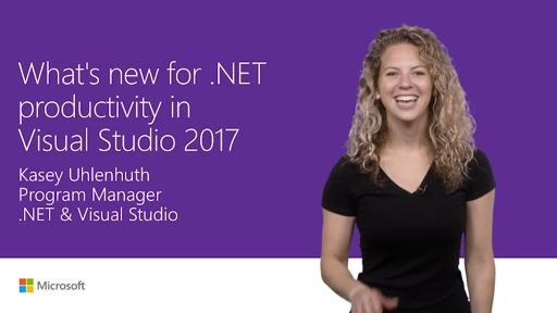 What's new for .NET productivity in Visual Studio 2017