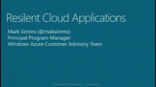 Resilient Cloud Apps