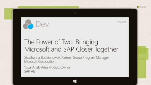 The Power of Two: Bringing Microsoft and SAP Closer Together