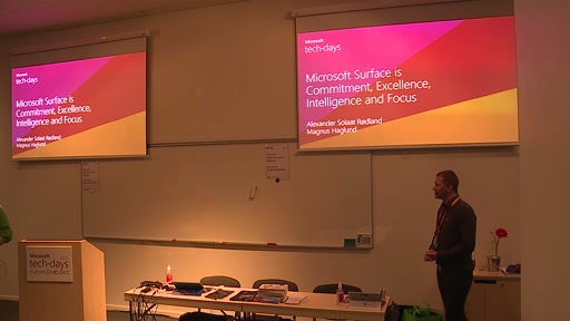 Microsoft Surface is Commitment, Excellence, Intelligence and Focus