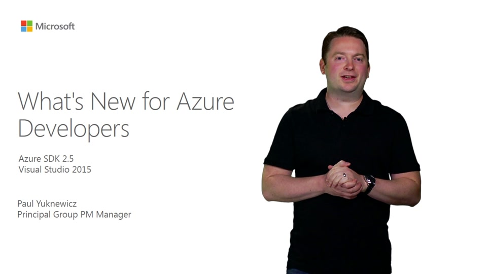 What's New For Azure Developers