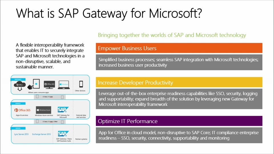 SAP Gateway for Microsoft: (03) How to Access an OData