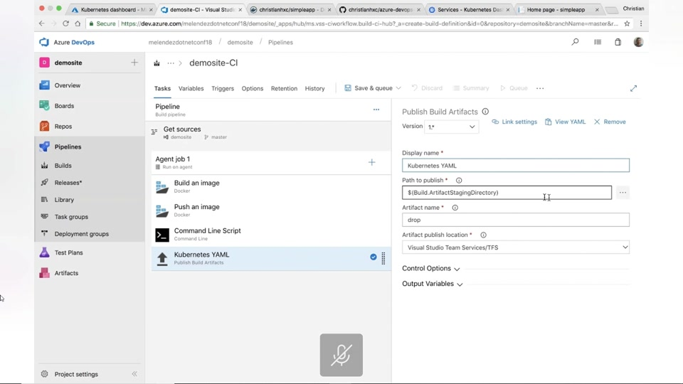 Creating a CI/CD Pipeline for Kubernetes Using Visual Studio Team Services