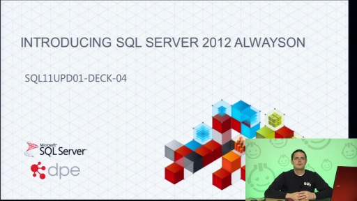 Presentation: Introducing SQL Server 2012 AlwaysOn Failover Clustering