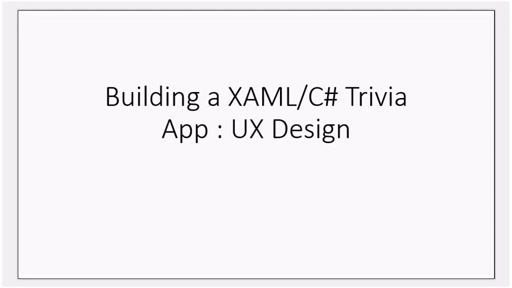 How to build your first Windows 8 trivia app (Part 2) : UX Design