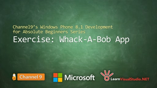 Part 14 - Exercise: Whack-a-Bob App