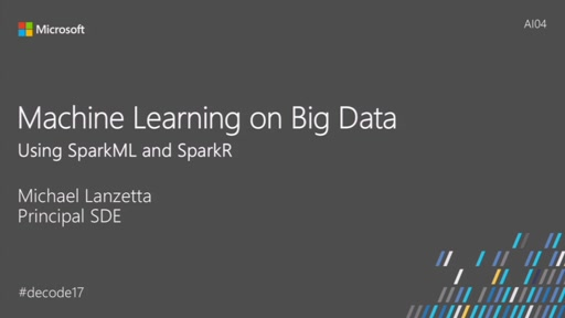 Scaling Machine Learning to Big Data Using SparkML and SparkR