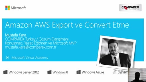 Modul 3-Amazon AWS Export ve Convert Etme