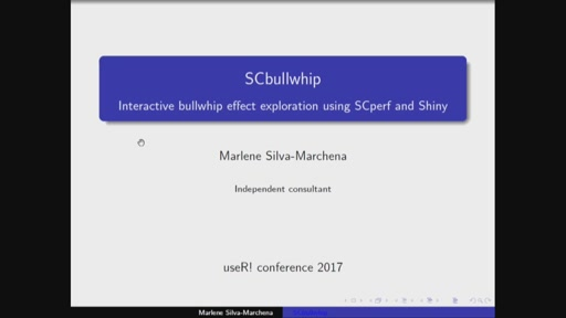 Interactive bullwhip effect exploration using SCperf and Shiny
