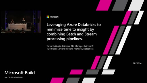 Leveraging Azure Databricks to minimize time to insight by combining Batch and Stream processing pipelines.