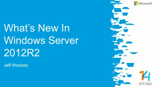 What's new in Windows Server 2012 R2