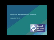 PowerPoint Storyboarding and Feedback Client
