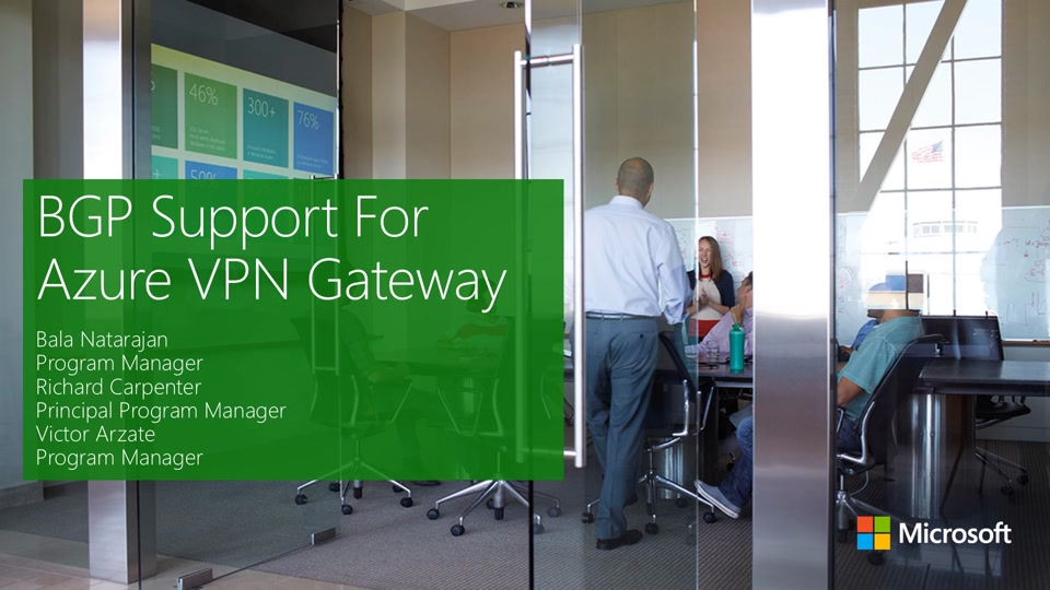 BGP for VPN Part 1 - BGP Routing for Azure VPN Gateways