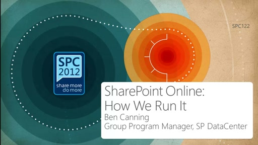 How We Do It: Operating SharePoint Online