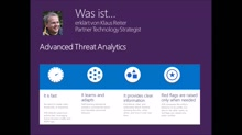 Was ist ... Advanced Threat Analytics