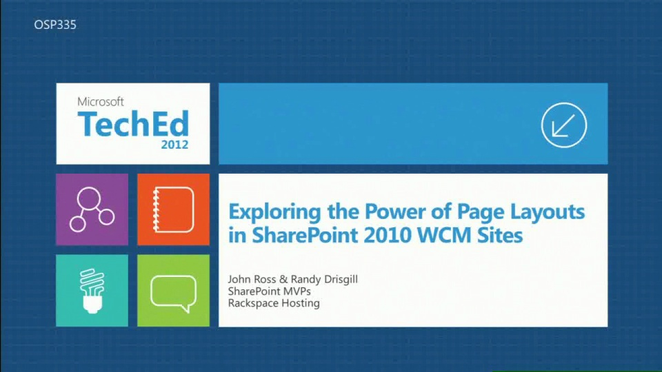 Exploring the Power of Page Layouts in SharePoint 2010 WCM Sites