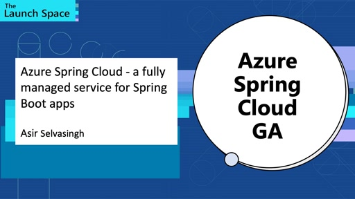 Azure Spring Cloud - a fully managed service for Spring Boot apps