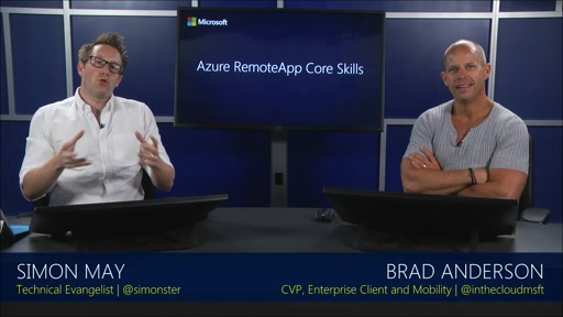 Mod 1: Why Azure RemoteApp with Brad