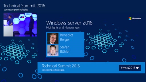 Windows Server 2016 – Highlights und Neuerungen