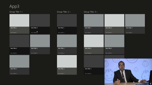 Custom Styling in Windows Store Apps