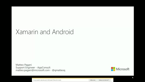Cross Platform Development - Část 2.: Xamarin and Android
