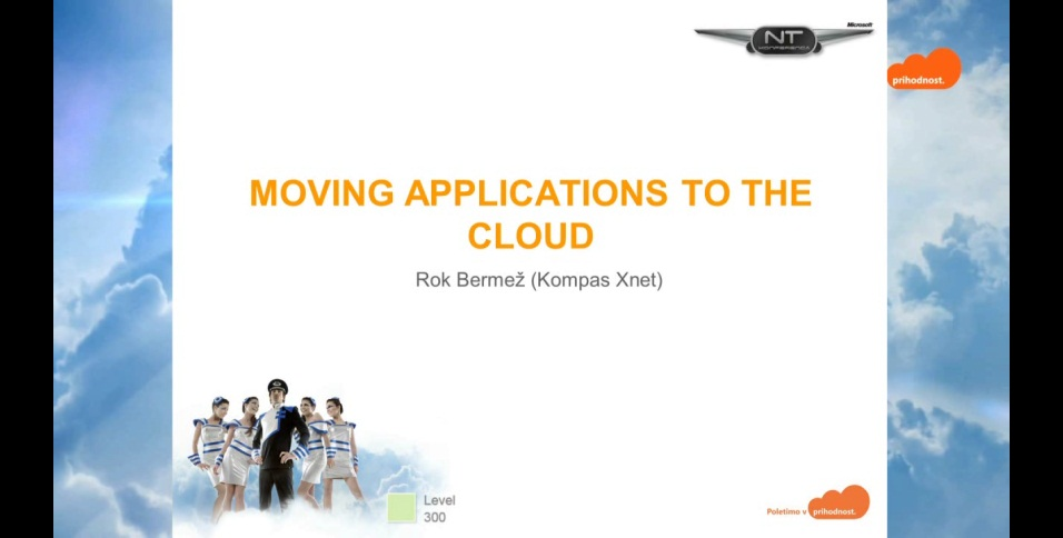 NTK - Moving applications to the cloud