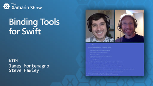 Binding Tools for Swift | The Xamarin Show