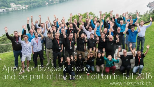 Swiss BizSpark Mountain Camp Summer 2016 Ticino