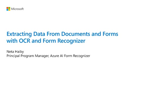 Extracting Data From Documents and Forms with OCR and Form Recognizer